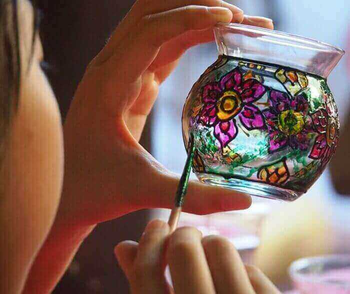 Paint for glass