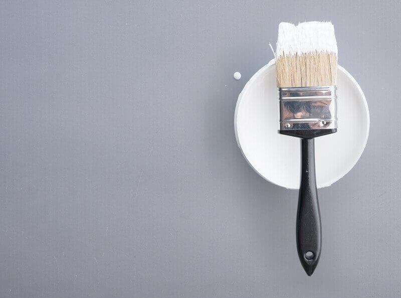 White Paint for Trim Behr